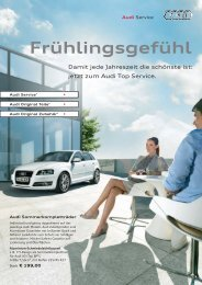 Frühlingsgefühl - Auto & Service