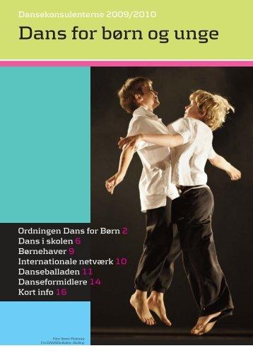 Dansekonsulenterne 2009/2010 - Dans for Børn