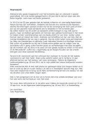 nieuwsbrief februari 2011 - De Vereniging Nederlands Nieuw ...