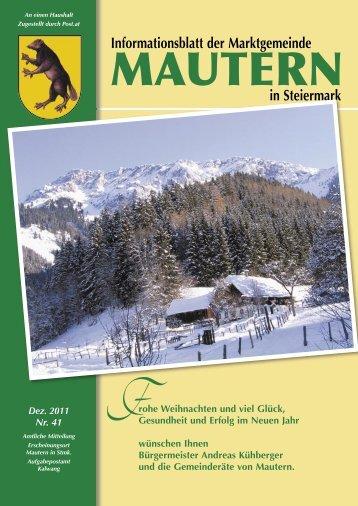 Ausgabe 41 - Mautern