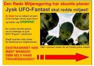 Den Røde Miljøregering har skumle planer: Jysk UFO-Fantast skal ...