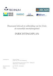 INRICHTINGSPLAN - Provincie Zeeland