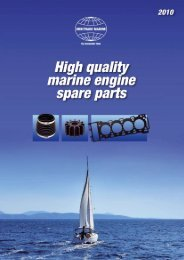 Gasket kits for sea water pump - Norpart as