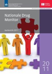 Jaarbericht 2011 van de Nationale Drug Monitor - Trimbos-instituut