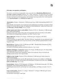 Cd-roms voor peuters en kleuters - SIOB