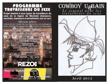 cowboy urbain Avril 2013.qxp - RÉZO