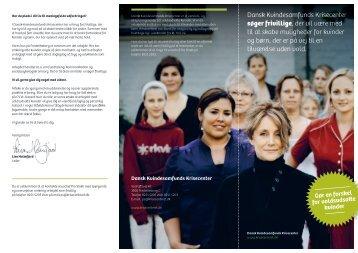 Dansk Kvindesamfunds Krisecenter søger frivillige, der vil være med ...
