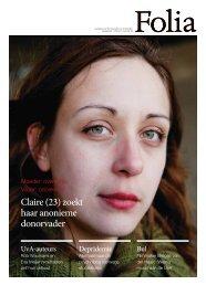 Claire (23) zoekt haar anonieme donorvader