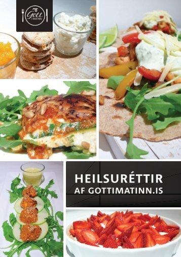 heilsuréttir - Gott í matinn