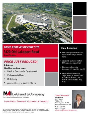 Typical Vacant Land Brochure