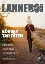 bÖRSen TaR TÄTen - Lannebo Fonder