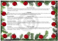 Hoogersmilde 8/9 en 15/16 december Kerstkriebels ... - Hogenboom