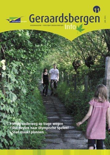 Geraardsbergen Info 11 - juni 2008 - Stad Geraardsbergen
