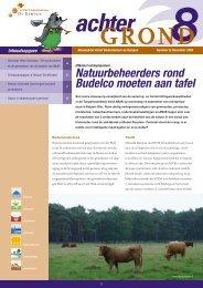 Natuurbeheerders rond Budelco moeten aan tafel - Actief ...