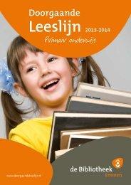 Doorgaande Leeslijn 2013-2014 - Nieuw in de bibliotheek