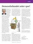 demens nytt - Nasjonalforeningen for folkehelsen - Page 3