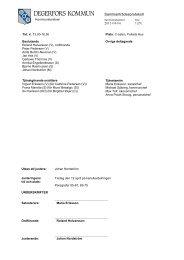 Sammanträdesprotokoll 2011-04-04 - Degerfors