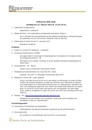 Referat for MIO møde mandag den 27. februar 2012 kl ... - Social