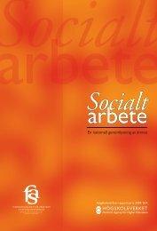 Socialt arbete. En nationell genomlysning av ämnet - Fas
