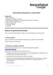 Generalforsamling den 27. marts 2012 Referat fra ...