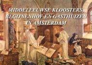 Middeleeuwse kloosters van Amsterdam - theobakker.net