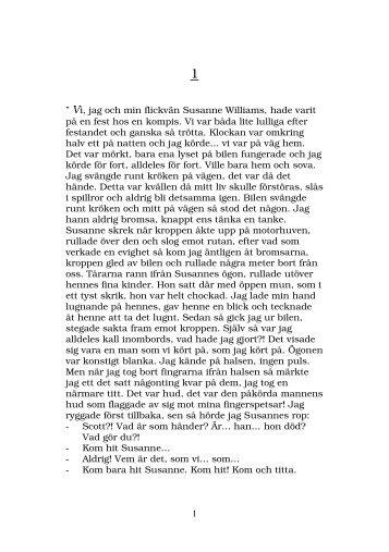 """1 """" Vi, jag och min flickvän Susanne Williams, hade ... - Digitalboken"""