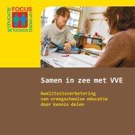 Samen in zee met VVE - Focus op vroegschool
