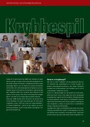 Krybbespil af Helle Marie Danielsen - Kirken Underviser