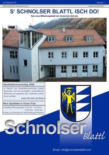 PDF-Download 1,39 MB - Schnolserblattl