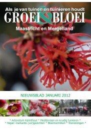 Maastricht en Mergelland - Groei & Bloei