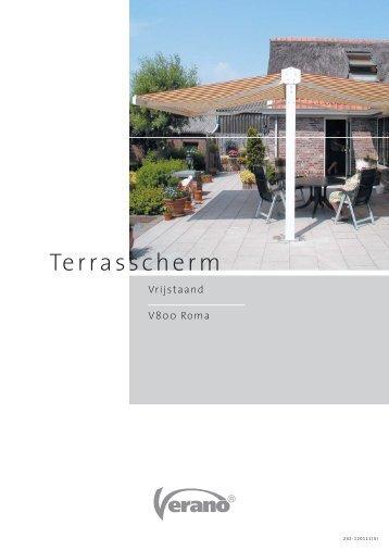 Terrasscherm - Mues Zonwering