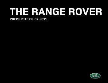 PREISLISTE 06. 07. 2011 - Land Rover