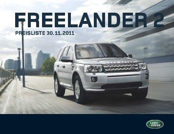 PREISLISTE 30. 11. 2011 - Land Rover