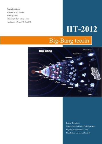 Big-Bang teorin - Finska folkhögskolan