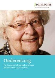 algemene brochure Ouderenzorg - Lionarons