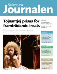Sollentunajournalen nr 7 2010 - Sollentuna kommun