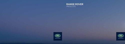 Range Rover - Land Rover