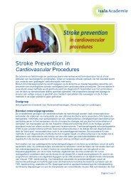 Stroke Prevention in Cardiovascular Procedures - Isala Academie