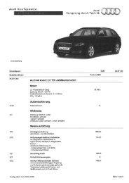 Audi Konfigu - Fink Markus, KFZ - Service & Handel