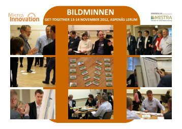 Bildminnen Get Together 2012.pdf - Mistra Innovation