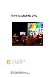 Toimintakertomus 2012 - Kulttuuria kaikille