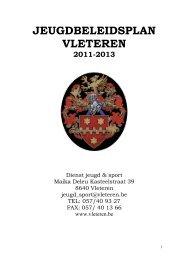 Jeugdbeleidsplan 2011-2013 - Gemeente Vleteren