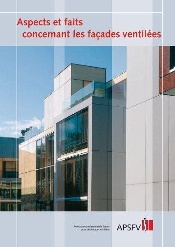 Aspects et faits concernant les façades ventilées - SFHF