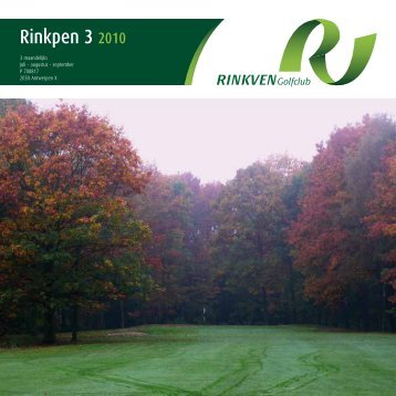 Rinkpen 3 2010 - Rinkven Golf Club