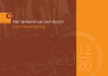 Het Verbond van Den Bosch Intentieverklaring