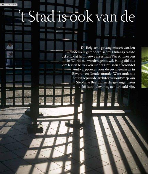 De Belgische gevangenissen worden – eindelijk ... - BAVO