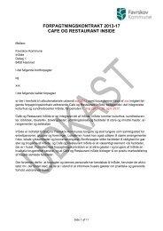 forpagtningskontrakten her - Favrskov Kommune