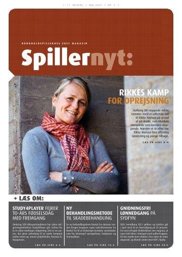 SpIllErnyt - Håndbold Spiller Foreningen