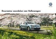 Duurzame voordelen van Volkswagen
