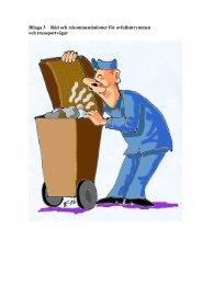 Bilaga 3 Råd och rekommendationer för ... - Dalaavfall